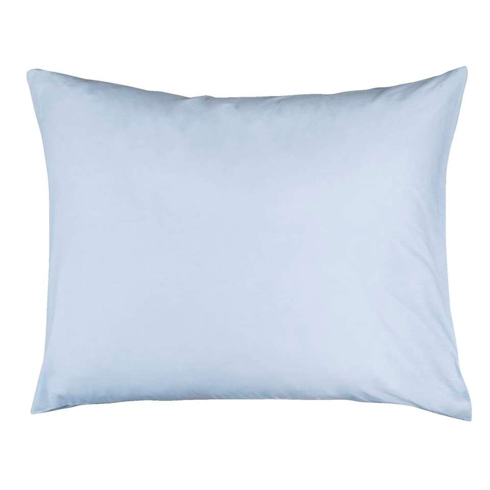 Sloop katoen (2 stuks) - lichtblauw - 60x70 cm - Leen Bakker