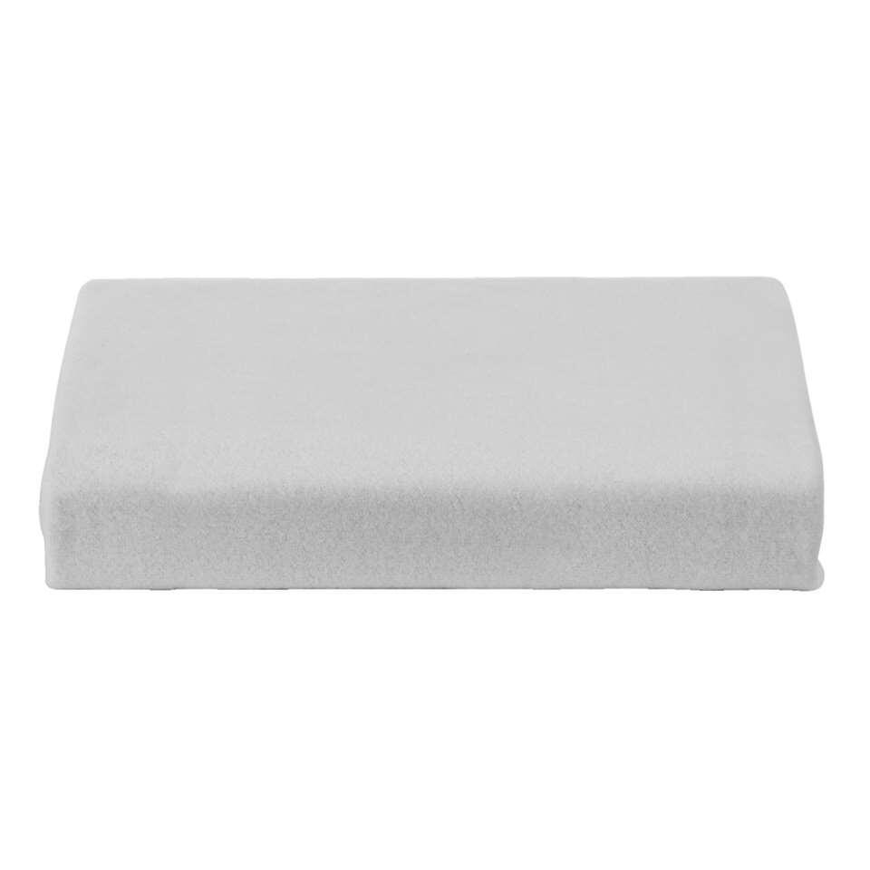 Hoeslaken Molton stretch - wit - 80x200 cm