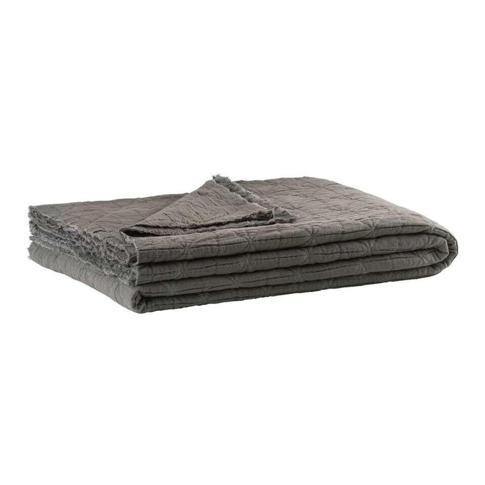 Couverture Didi - gris foncé - 220x240 cm