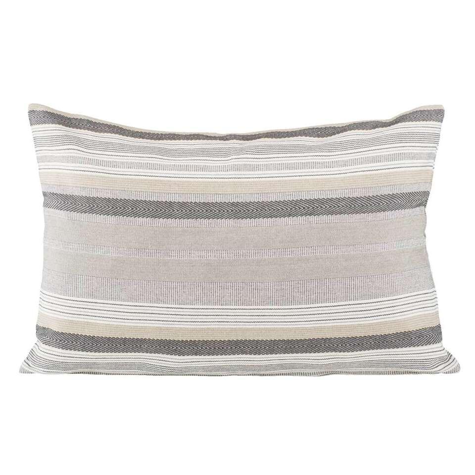 Sierkussen Boyd – grijs – 40×60 cm – Leen Bakker