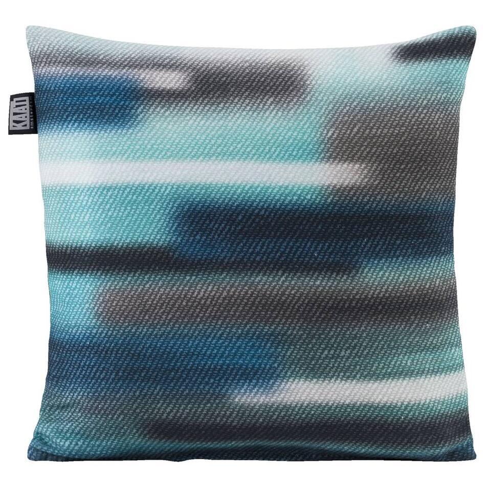 Kaat Amsterdam sierkussen Sweep Sweater – blauw – 43×43 cm – Leen Bakker
