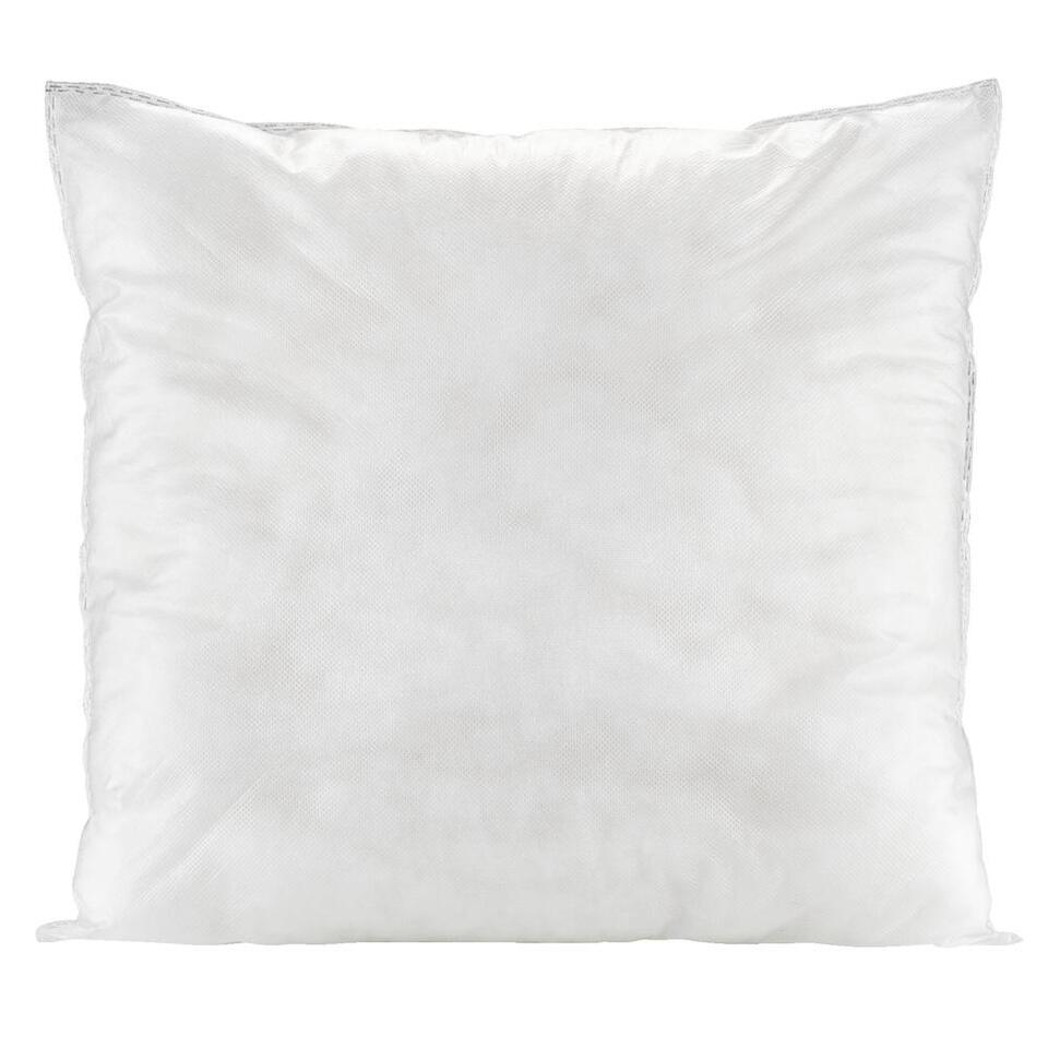 Binnenkussen - wit - 45x45 cm