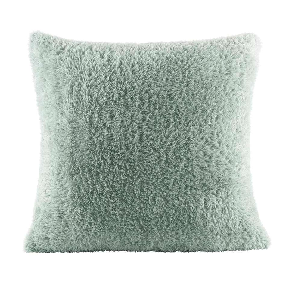 Sierkussen Veerle – groen – 50×50 cm – Leen Bakker