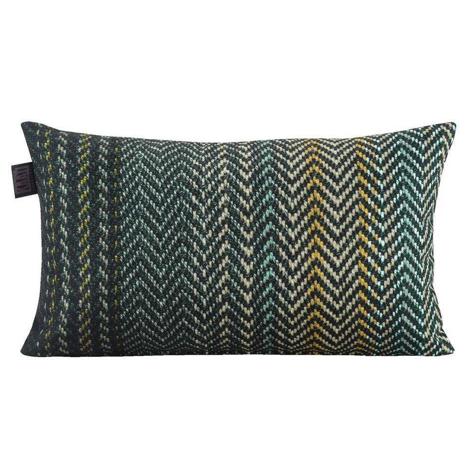 Sierkussen Platanar Kaat groen 30x50 cm Leen Bakker