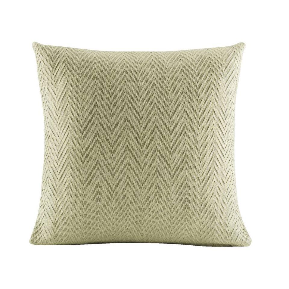 Sierkussen Jasmijn groen 45x45 cm Leen Bakker