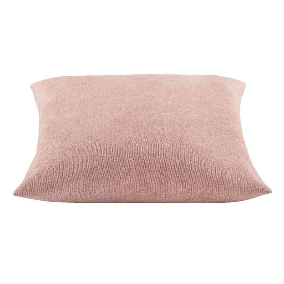 Sierkussen Oriana - roze - 45x45 cm