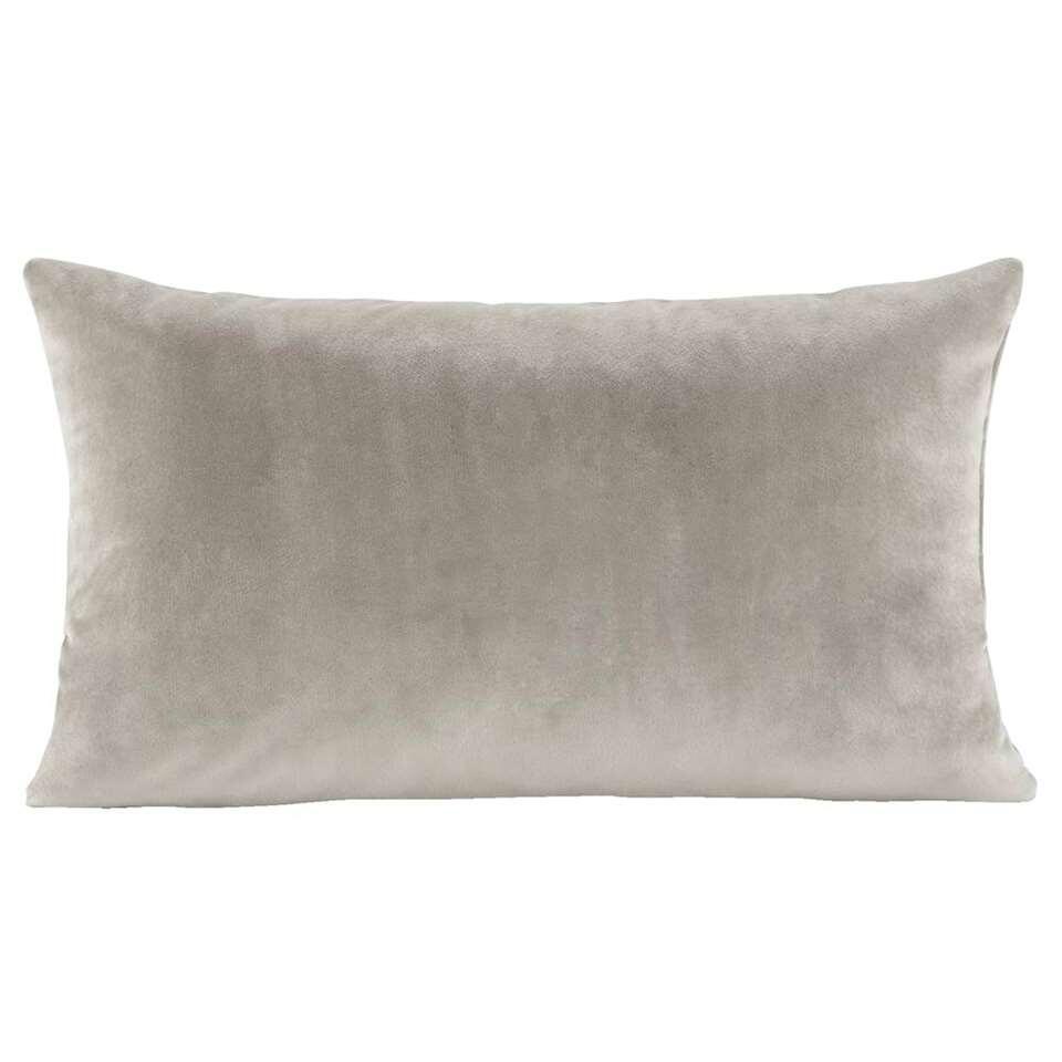 Sierkussen Coco – zandkleur – 30×50 cm – Leen Bakker