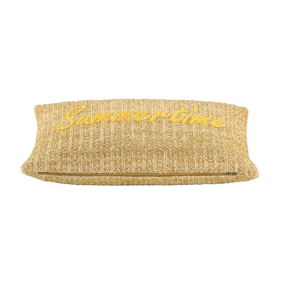 Sierkussen Summer – geel – 30×50 cm – Leen Bakker