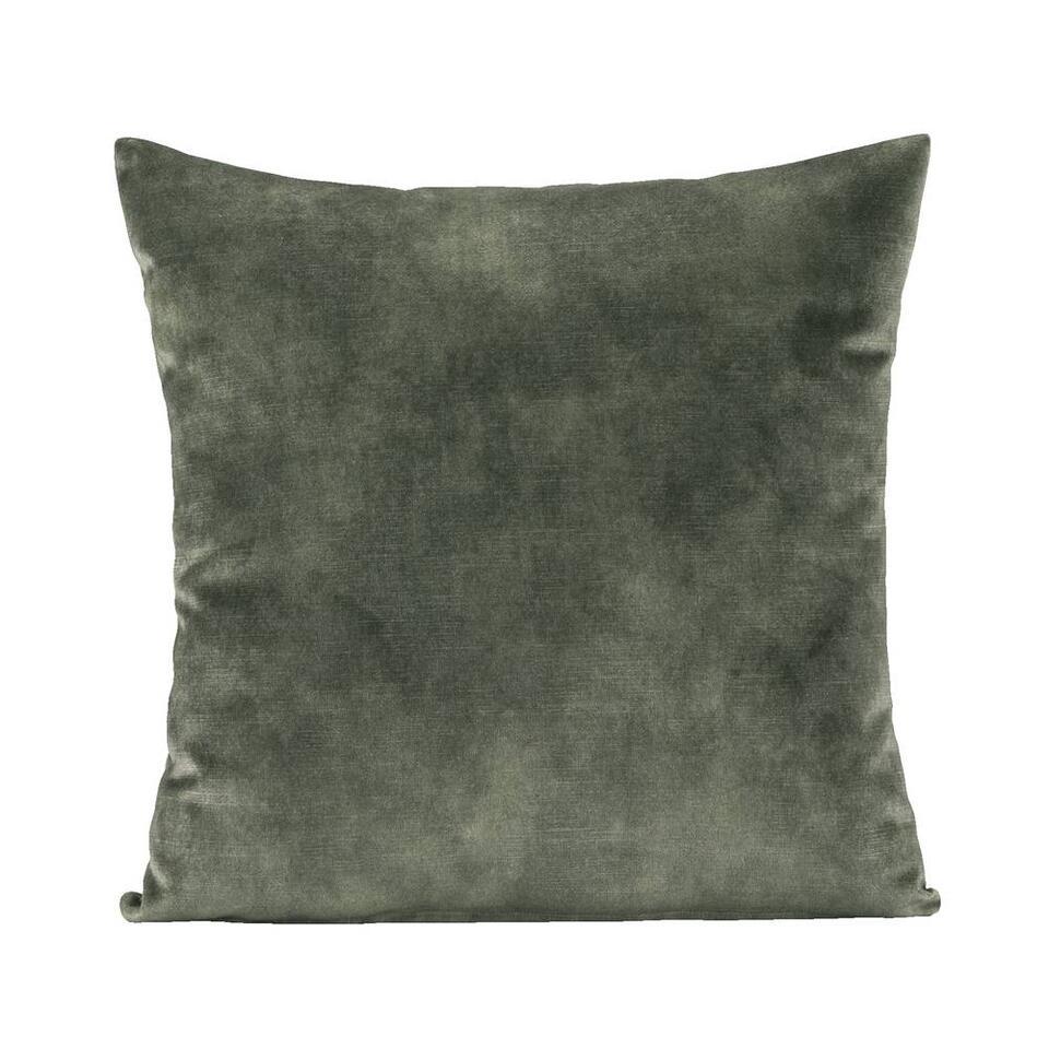 Sierkussen Joel - groen - 45x45 cm