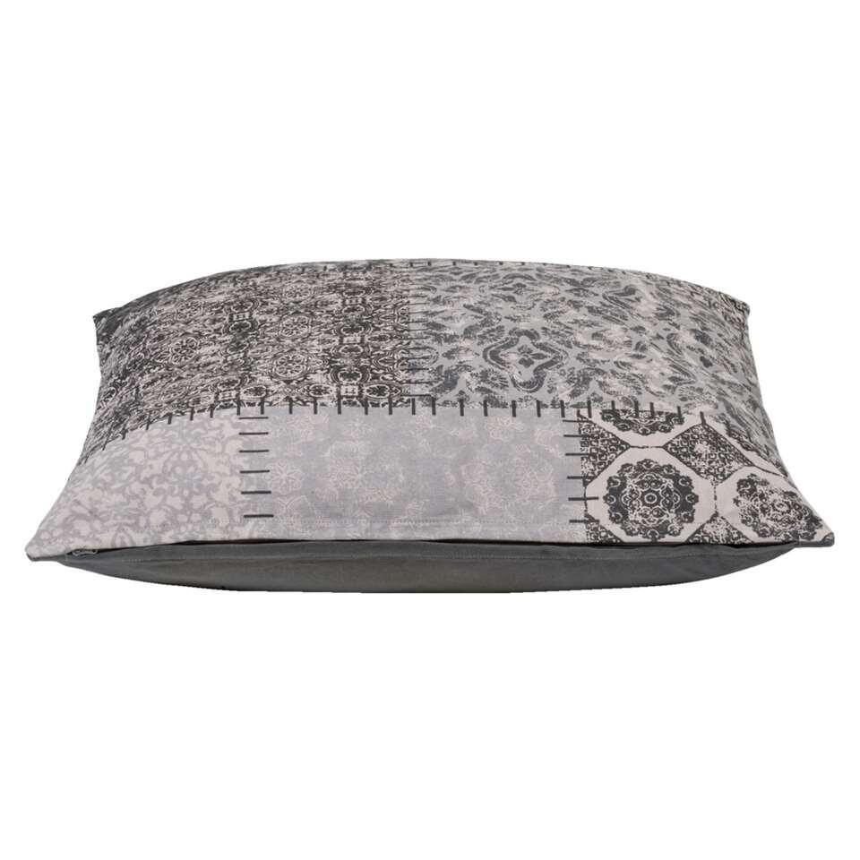 Woonkussen Julian - grijs - 60x60 cm