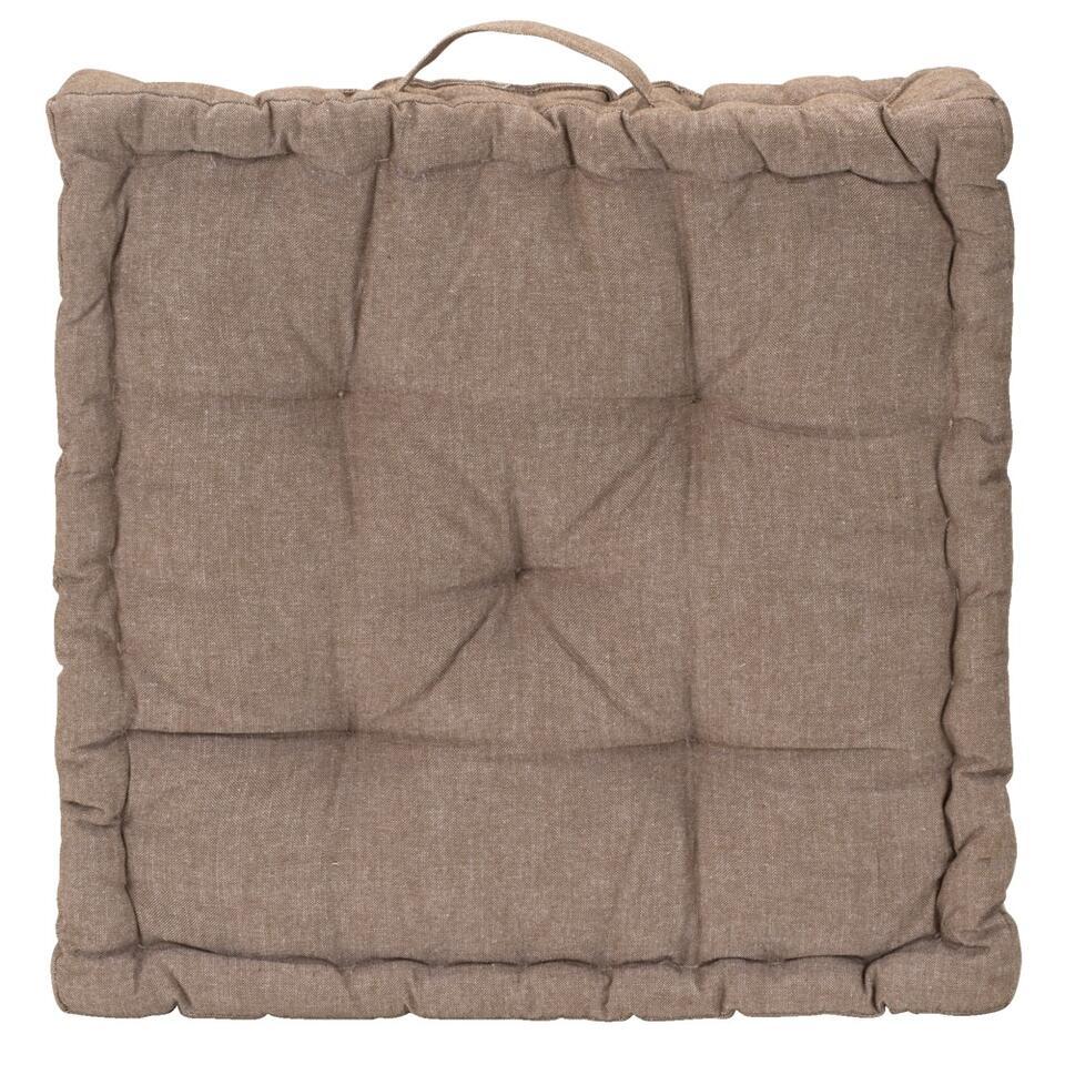 Matraskussen Hugo is een heerlijk comfortabel zitkussen. Het kussen heeft een afmeting van 10x10 cm en een dikte van 10 cm.