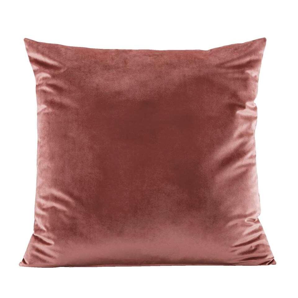 Woonkussen Coco – roze – 60×60 cm – Leen Bakker