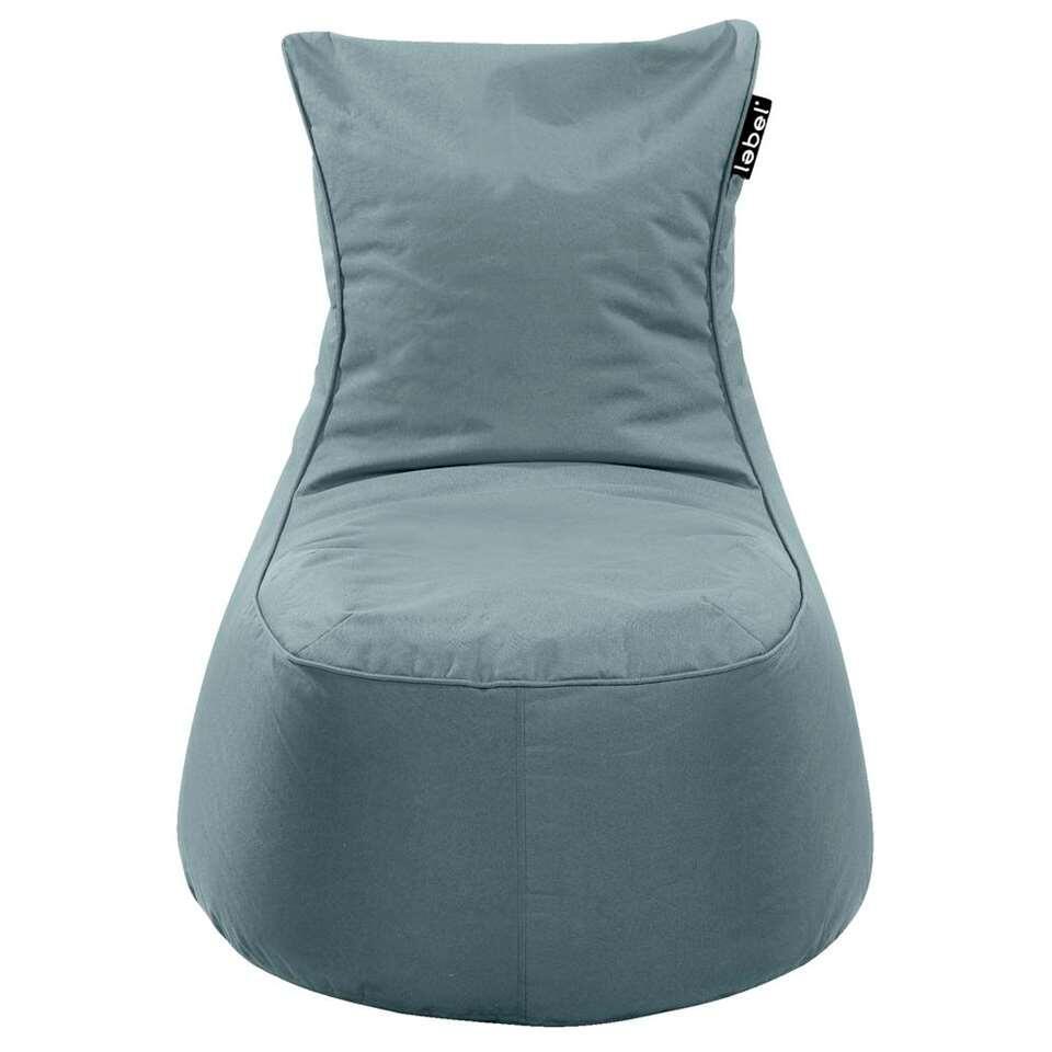 Lebel loungestoel - agave blauw - 100x80x80 cm