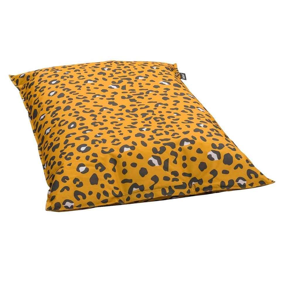 Maak Je Eigen Zitzak.Lebel Zitzak Leopard Oker 100x150 Cm