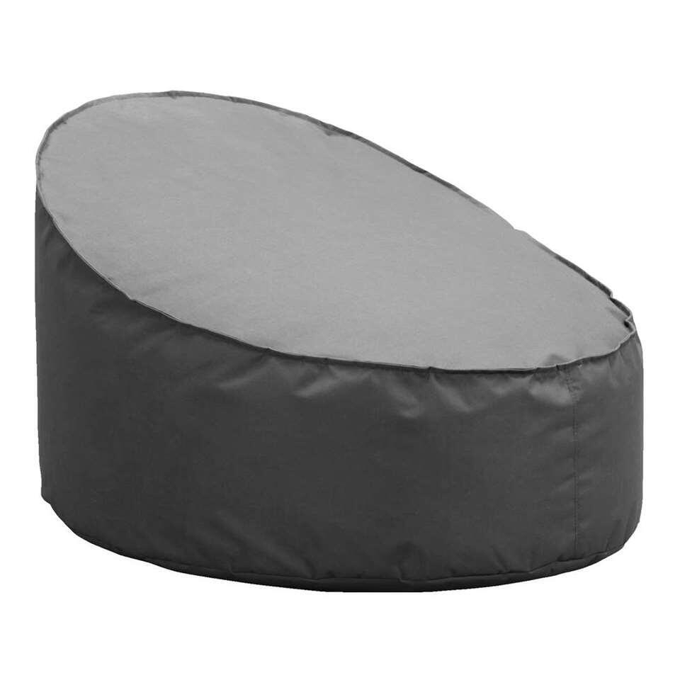 Lebel loungestoel Eclips - antraciet - 80x90x60 cm