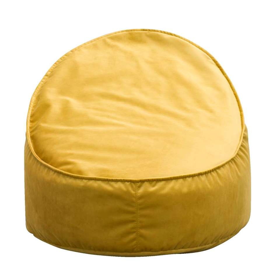 Chaise lounge mini Eclips - jaune ocre - 50x60x70 cm