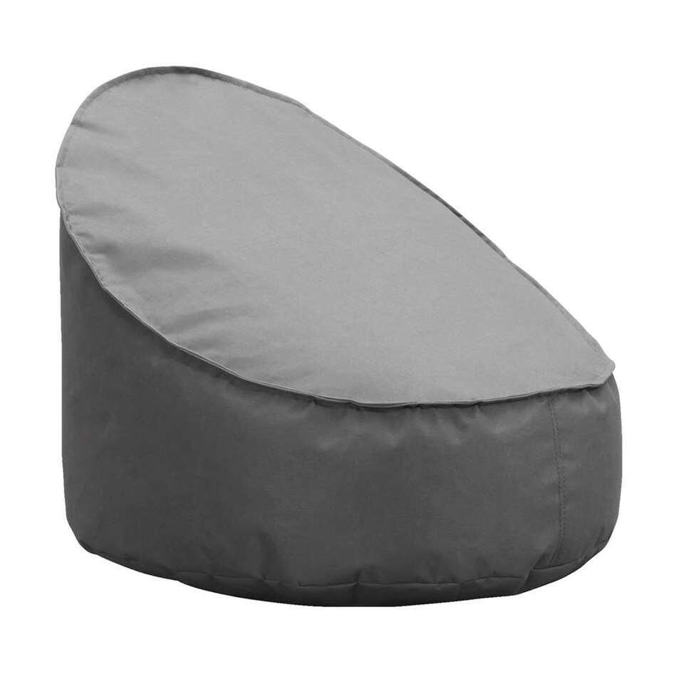 Lebel loungestoel Eclips mini - antraciet - 50x60x70 cm - Leen Bakker