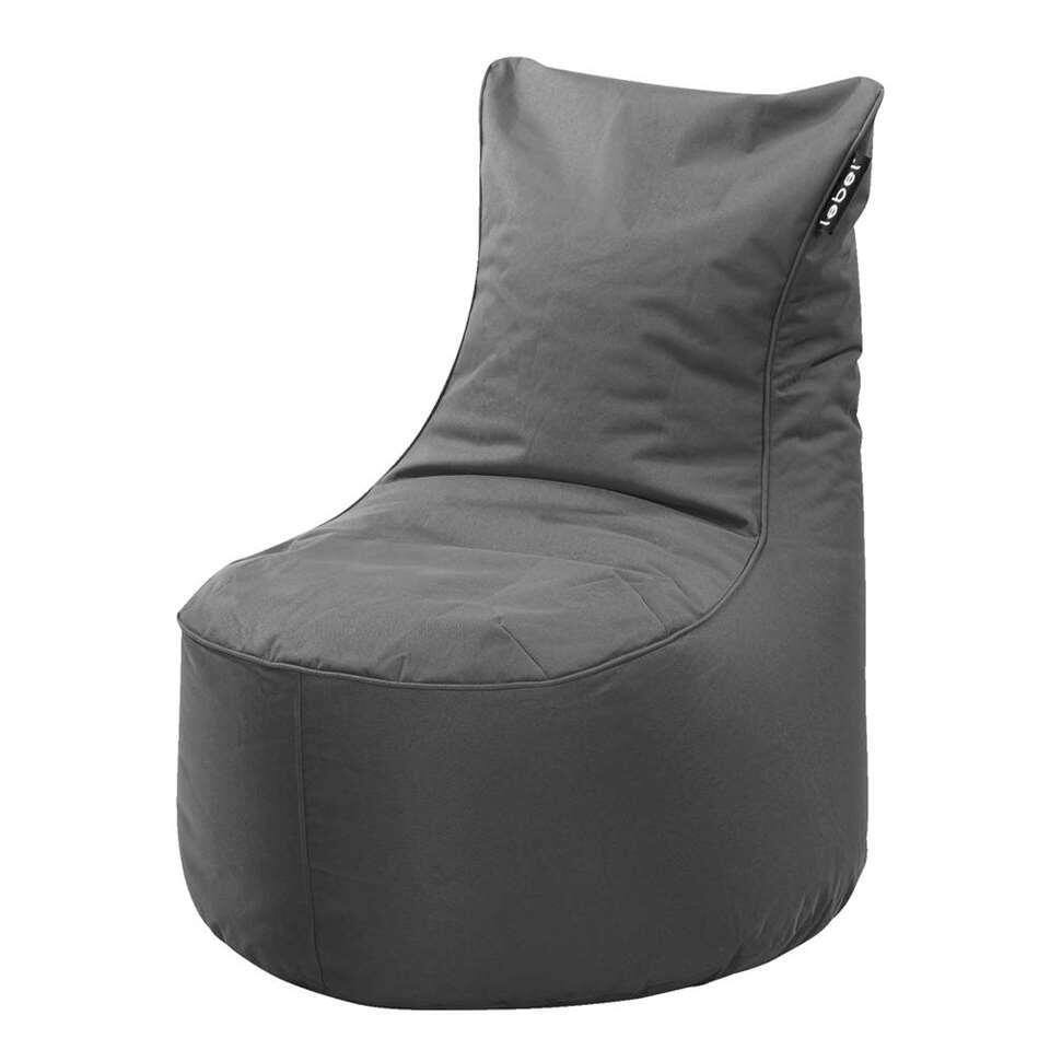 Lounge Stoel Met Muziek.Lebel Loungestoel Antraciet 100x80x80 Cm