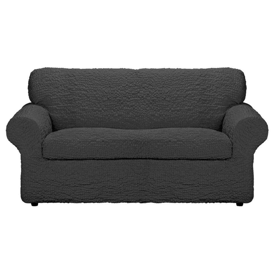 Met deze meubelhoes Josefien 2-zits zorg je ervoor dat je bank of fauteuil niet beschadigd wordt. De hoes heeft een antracietkleur en is gemaakt van katoen, polyester en elastane.