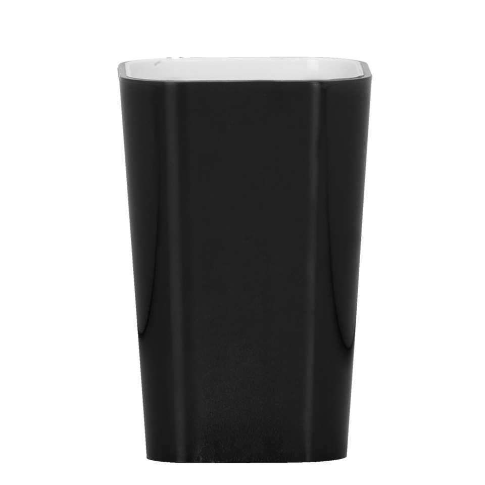 Kleine Wolke beker Easy - zwart - 7x11 cm - Leen Bakker