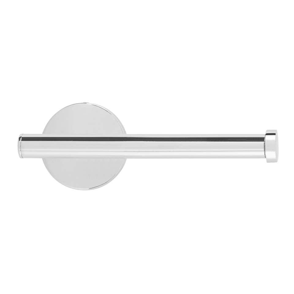 Toiletrolhouder Joy - zilverkleurig - 17x10x6 cm - Leen Bakker
