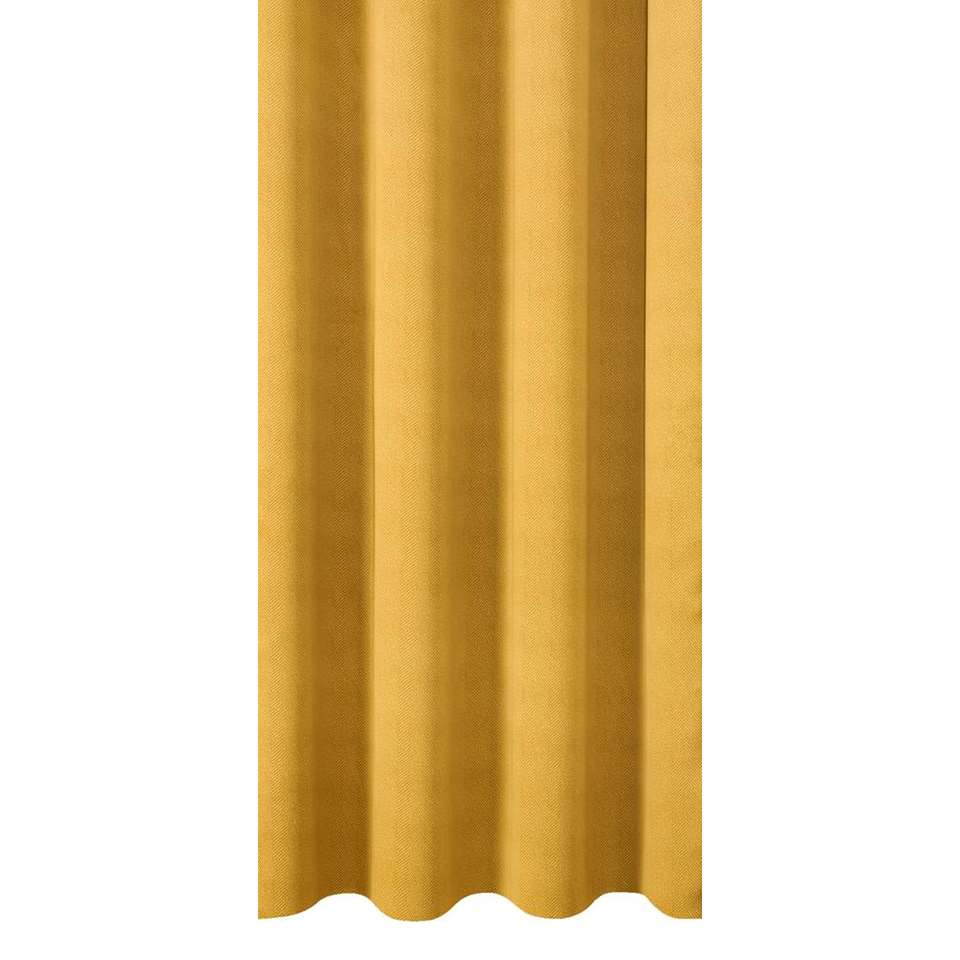 Gordijnstof Canterbury - geel