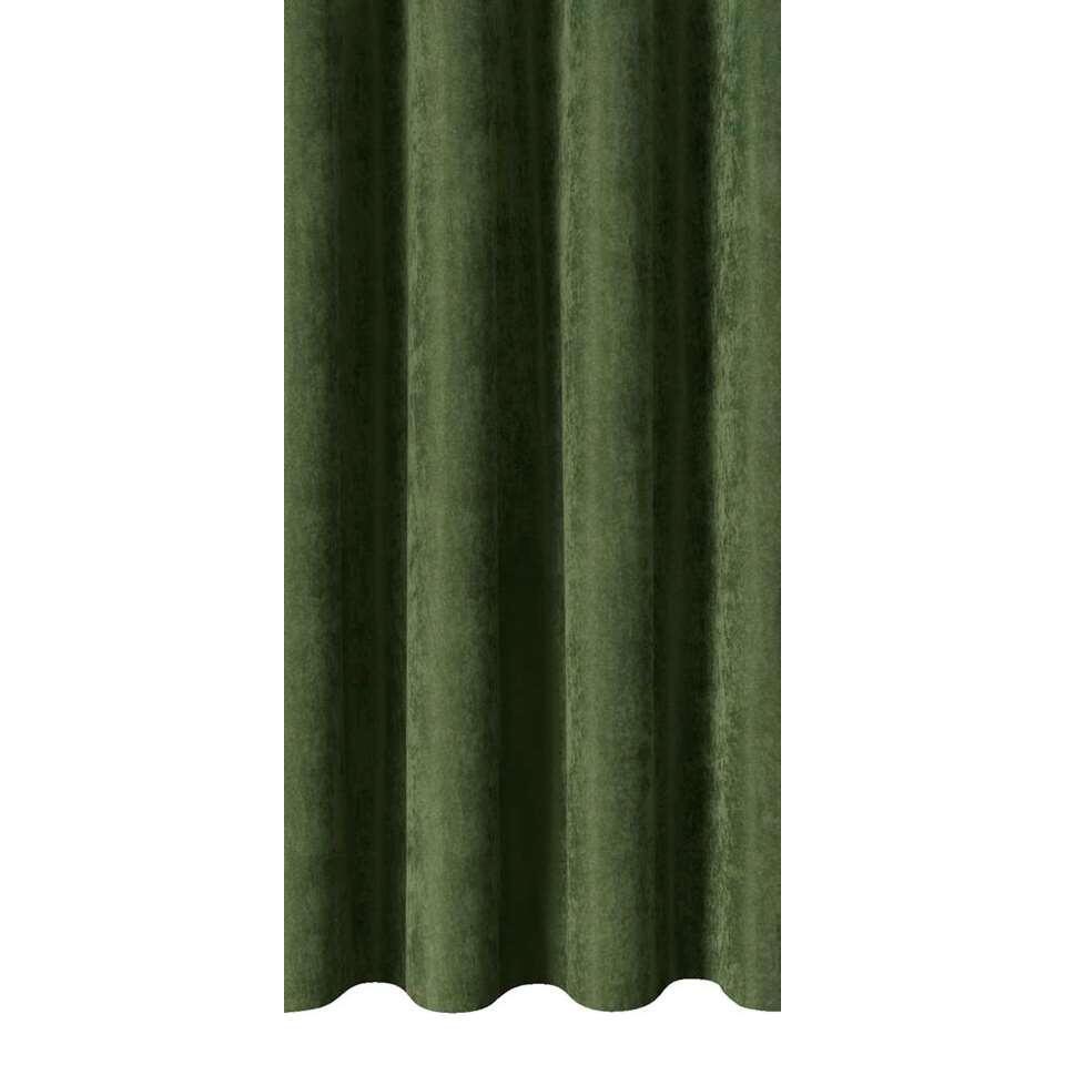 Gordijnstof Lexi - groen