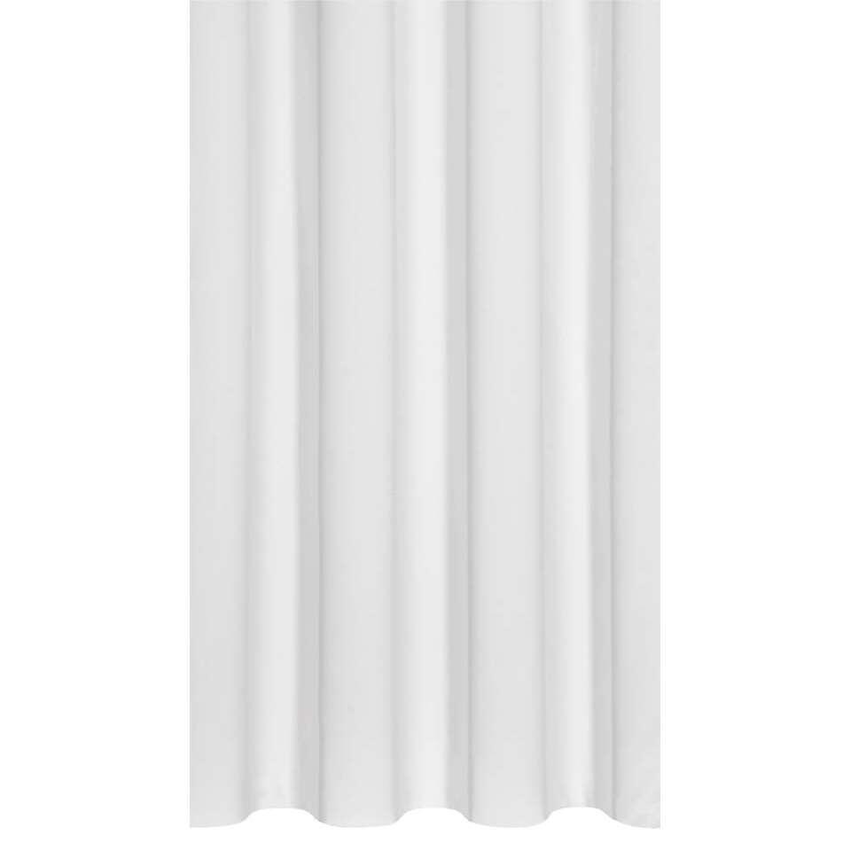 Gordijnstof Como heeft een stijlvolle witte kleur en verhoogt de sfeer in de slaap- of woonkamer. Deze sfeervolle gordijnstof is 150 cm breed en kan in elke gewenste lengte geleverd worden.