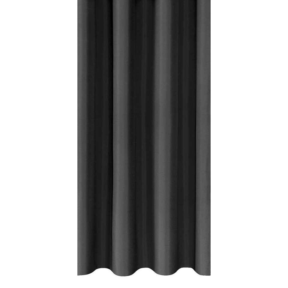 Gordijnstof Marnix - zwart