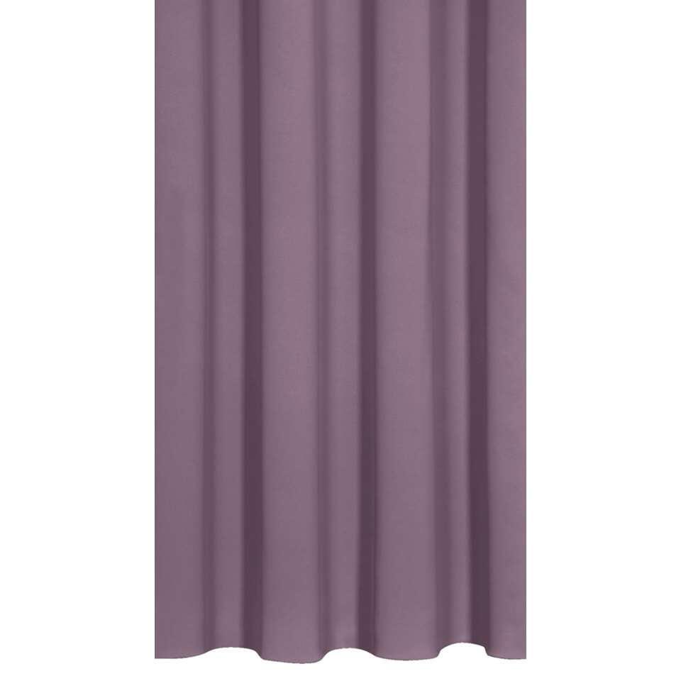 Gordijnstof Praag – paars – Leen Bakker
