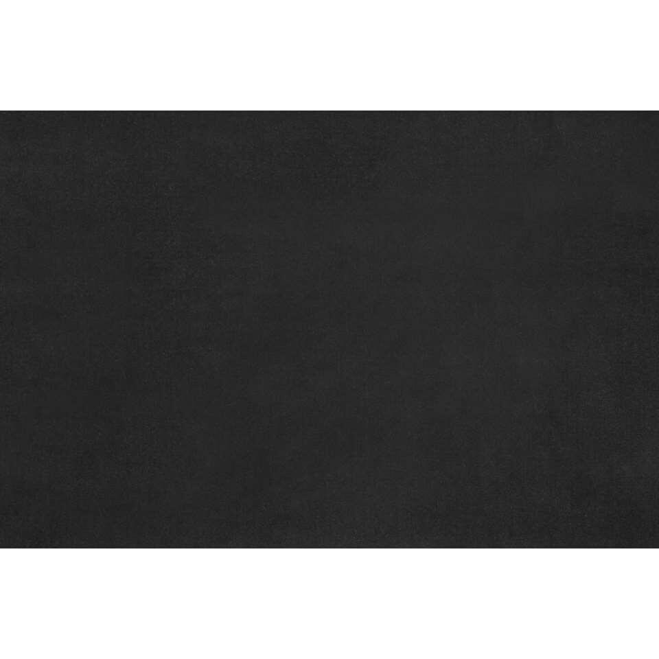 gordijnstof victoria velours zwart