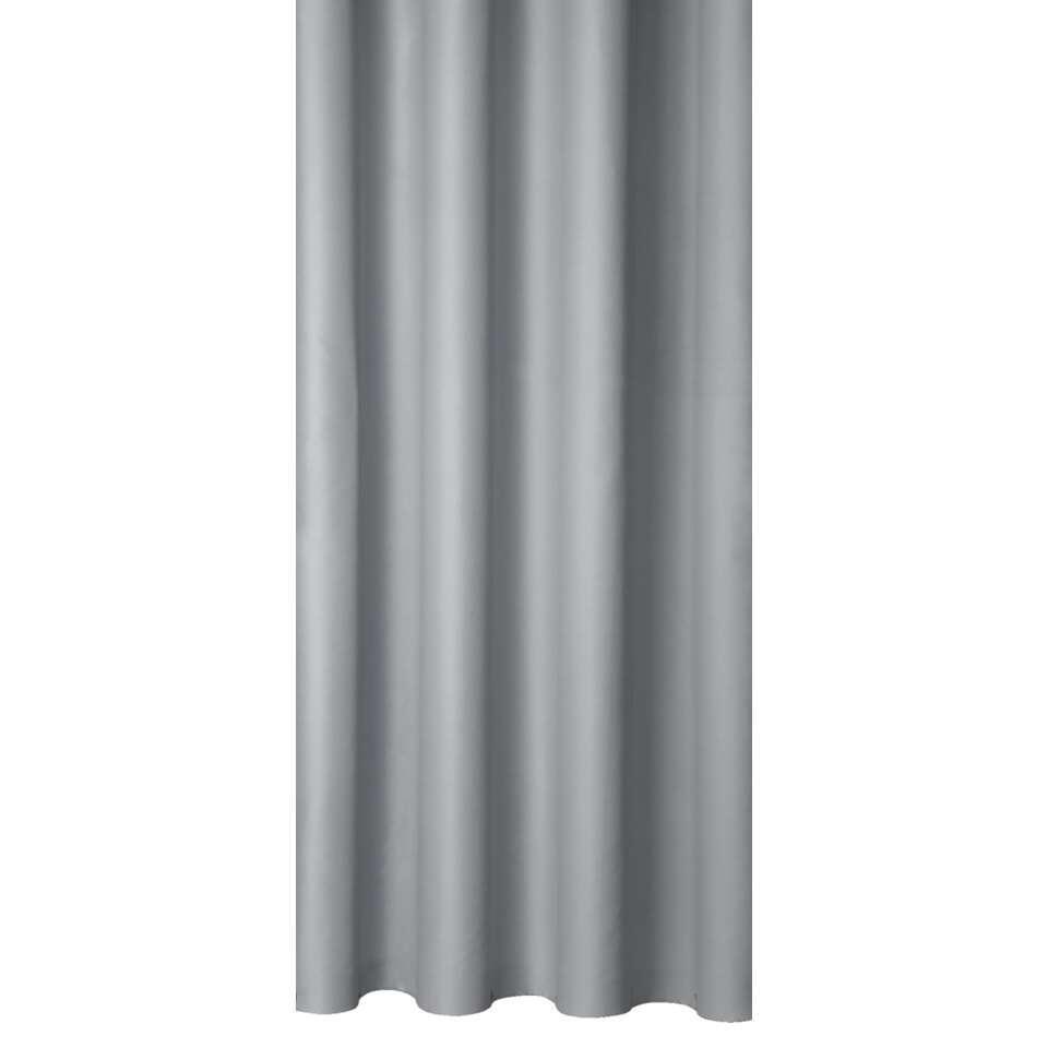 Gordijnstof Granada in de kleur grijs verhoogt de sfeer in huis. Deze gordijnstof past perfect in zowel de slaap- als woonkamer. De stof is gemaakt van 100% polyester en kan in elke gewenste lengte worden geleverd.