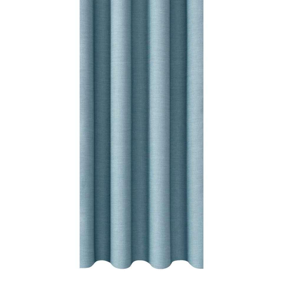 gordijnstof bowie lichtblauw