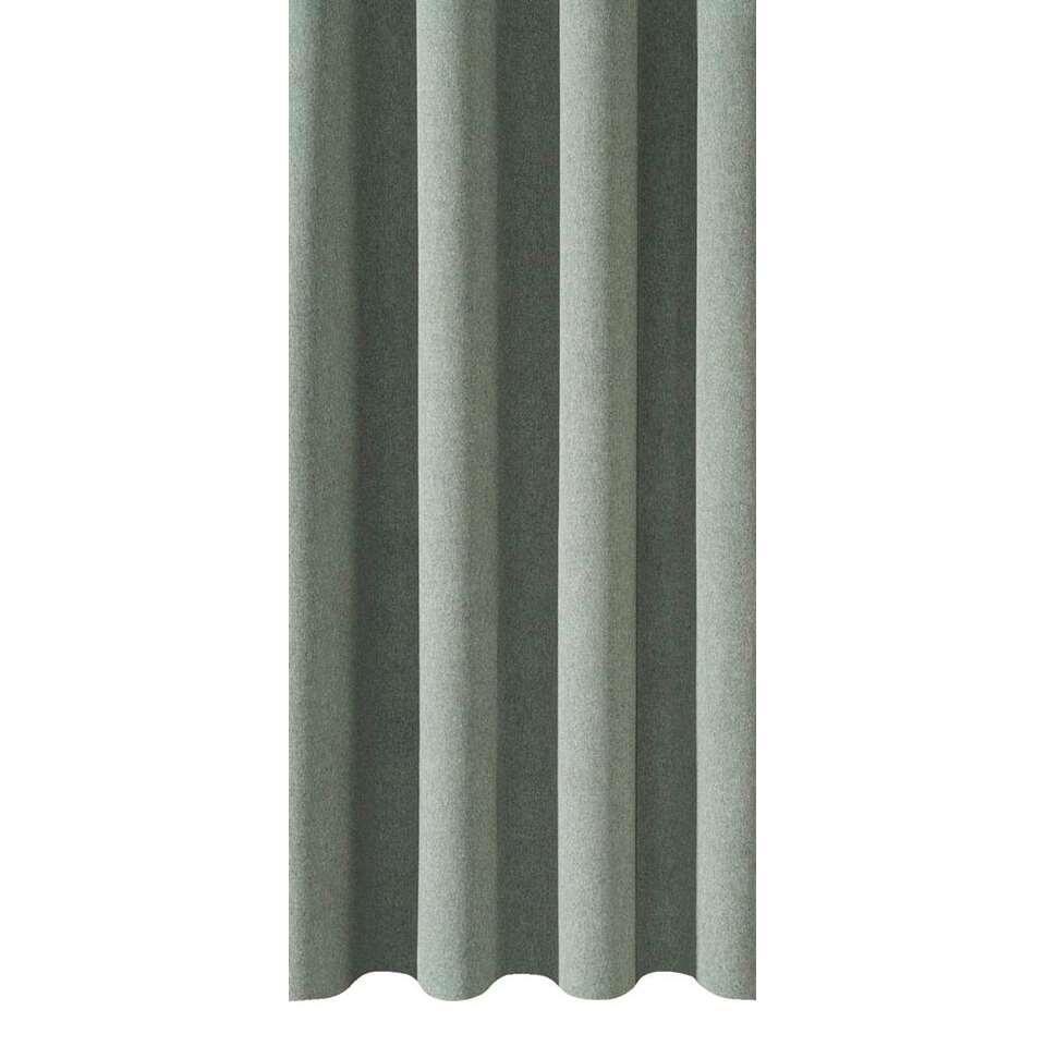 Gordijnstof Leonard - lichtgroen - 150 centimeter