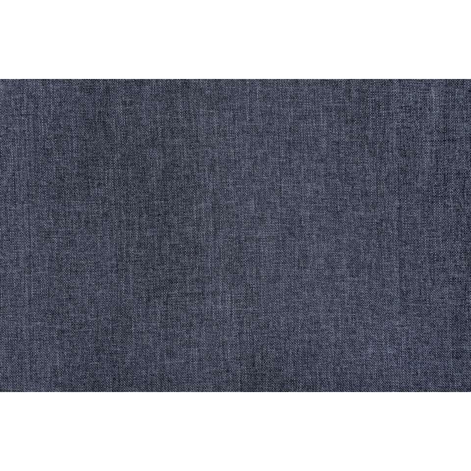 gordijn peter blauw 280x140 cm 1 stuk