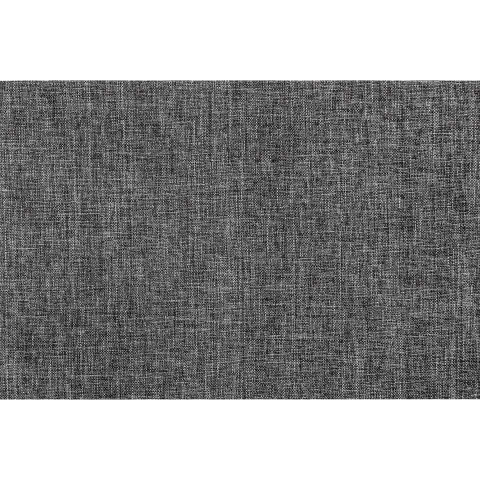 gordijn peter donkergrijs 280x140 cm 1 stuk