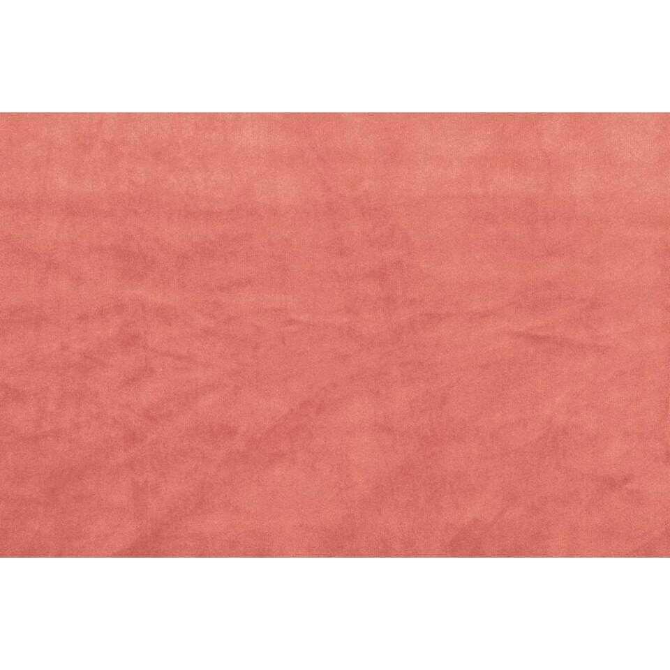 gordijn ruby french velvet roze 250x140 cm 1 stuk