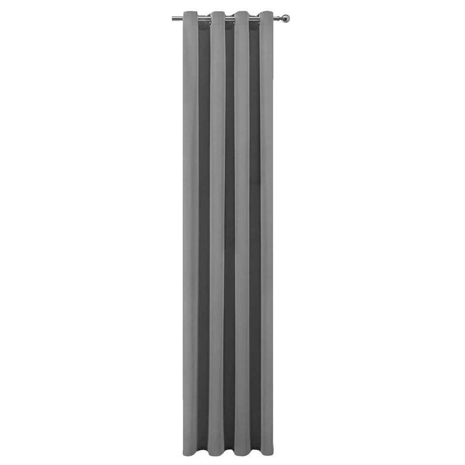 Gordijn Robin - antraciet - 280x140 cm (1 stuk)