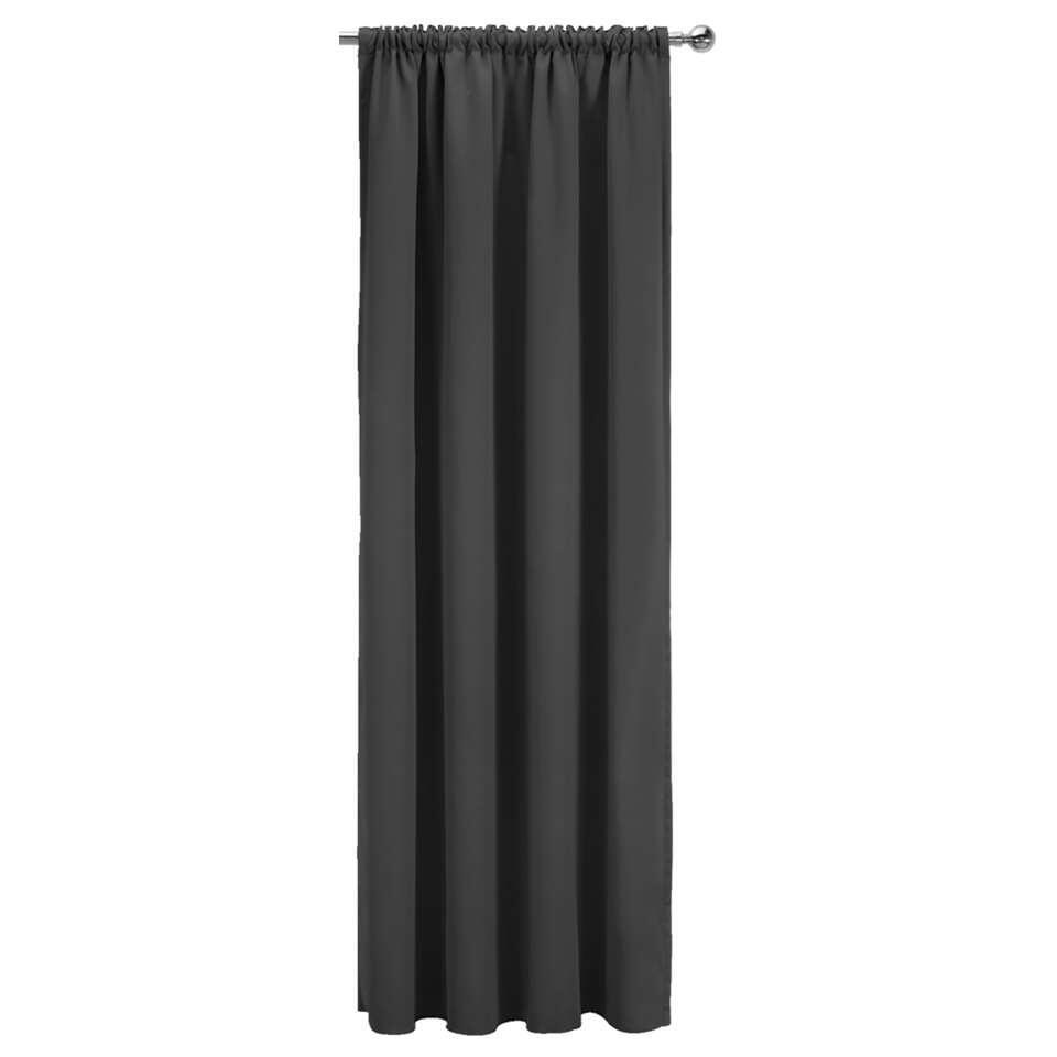 gordijn nevada zwart 250x140 cm 1 stuk