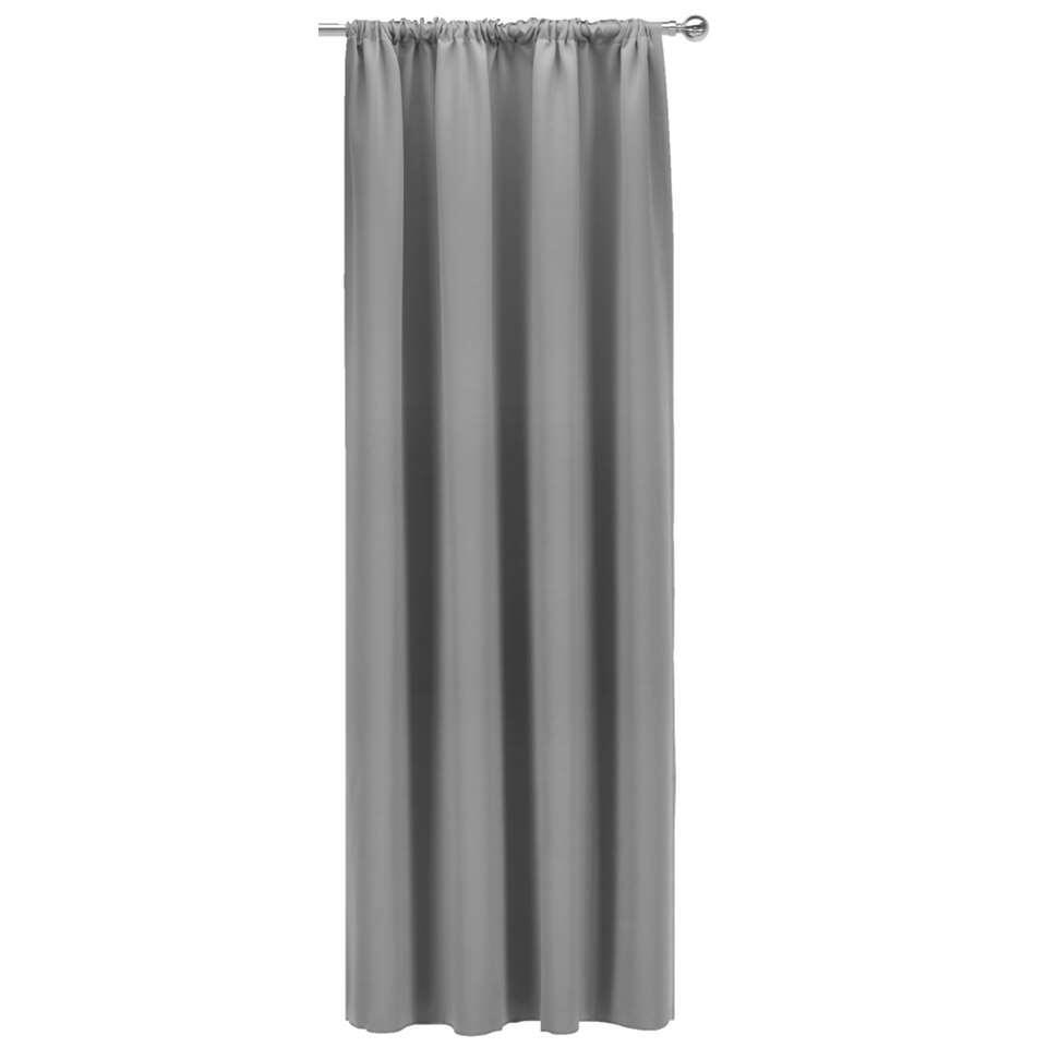Gordijn Nevada - grijs - 250x140 cm (1 stuk)