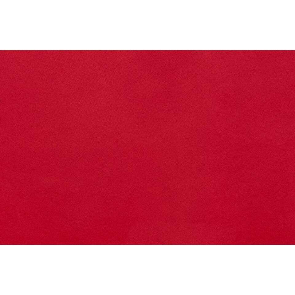 Gordijn Montana - rood - 250x140 cm (1 stuk)