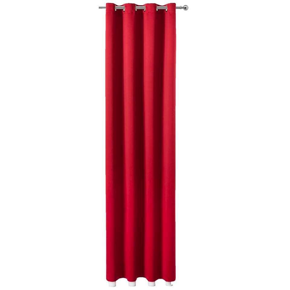 gordijn montana rood 250x140 cm 1 stuk