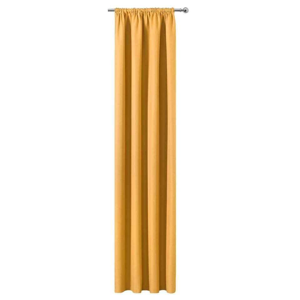 Gordijn Sam – okergeel – 250×140 cm (1 stuk) – Leen Bakker