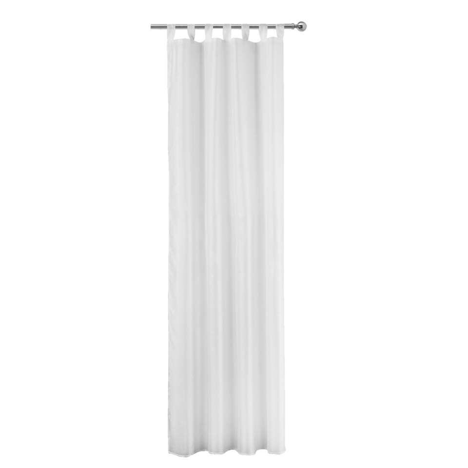 Gordijn Toledo - wit - 280x135 cm (1 stuk)