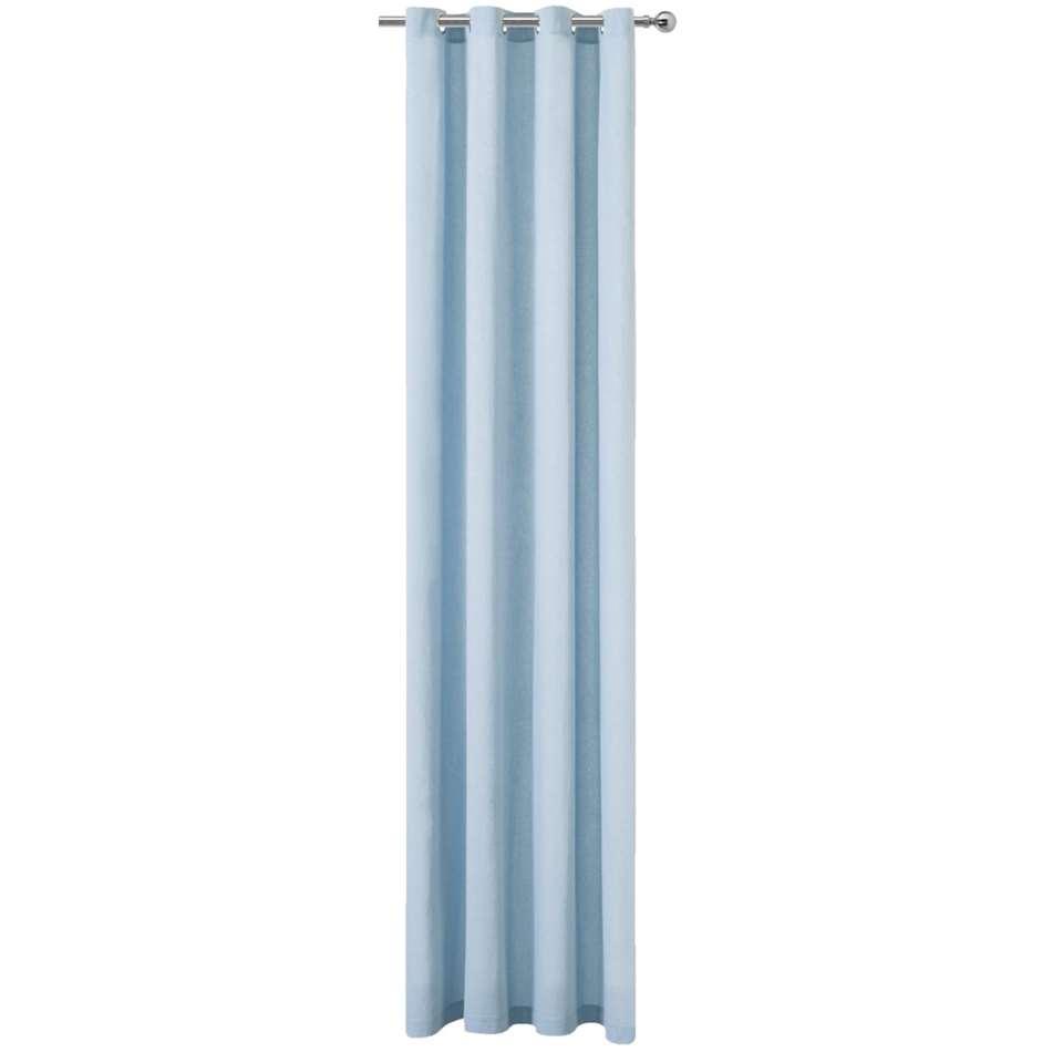gordijn siem lichtblauw 280x140 cm 1 stuk
