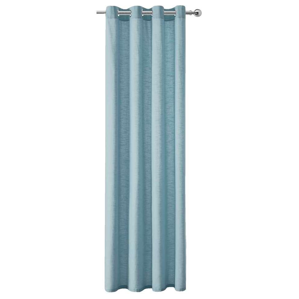 gordijn kyra blauw 250x140 cm 1 stuk