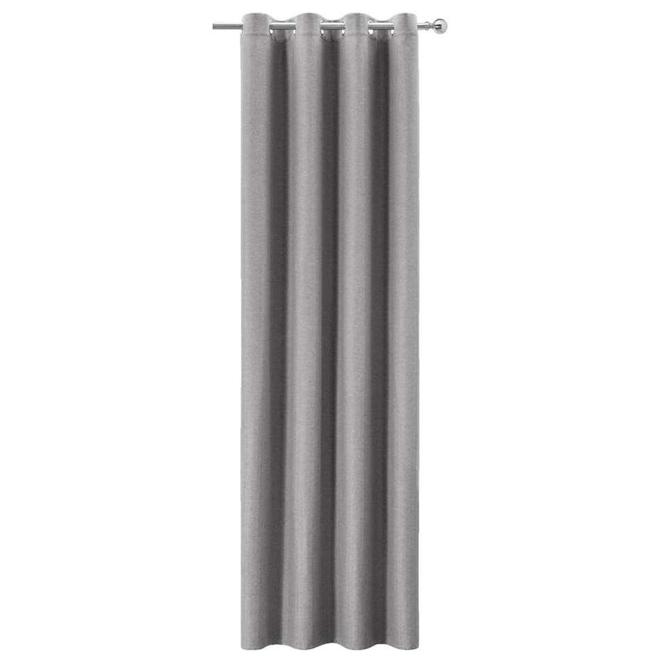 Gordijn Joe - lichtgrijs - 250x135 cm (1 stuk)