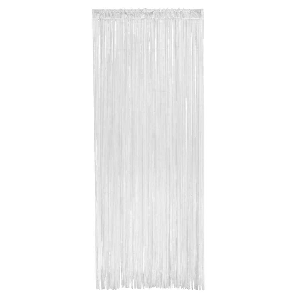 Deurgordijn Alessio - wit - 200x90 cm (1 stuk) - Leen Bakker