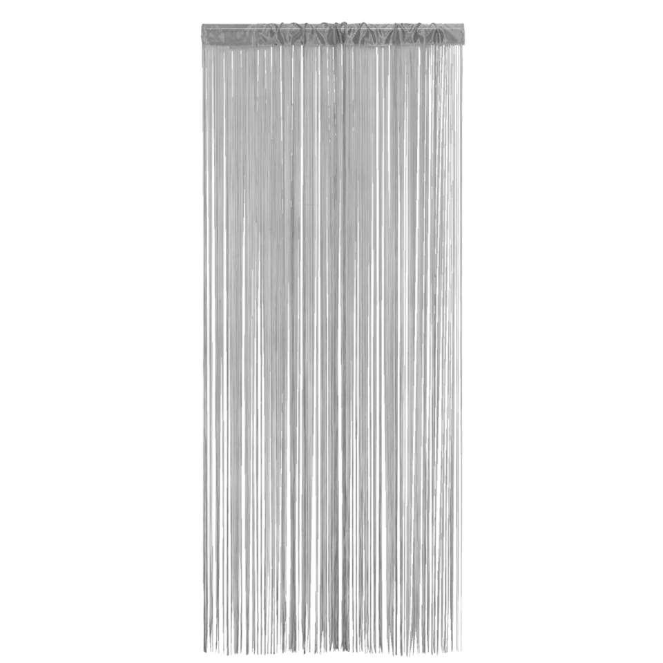 Stringcurtain Alessio is stijlvol grijs en heel gemakkelijk op te hangen. Het gordijn is 90x200 cm