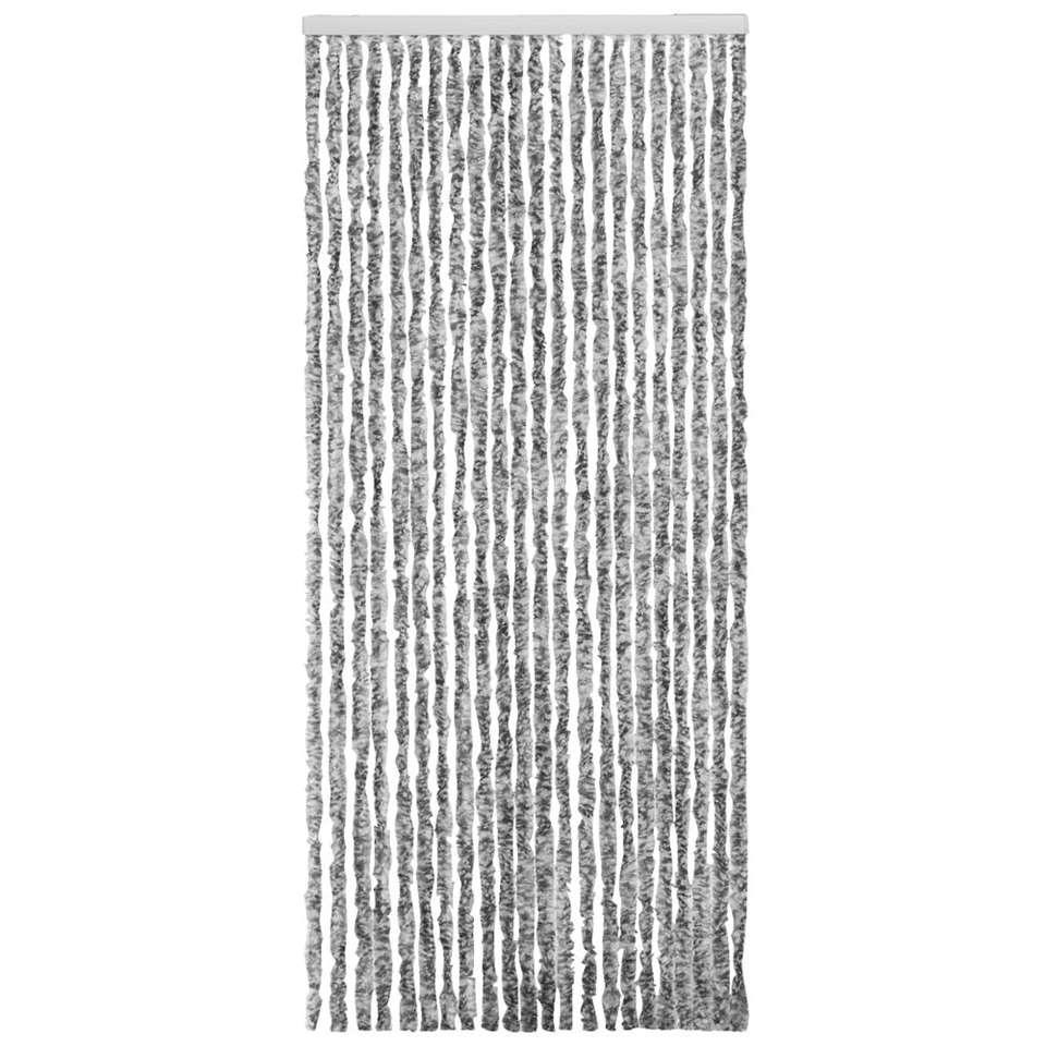 Deurgordijn Martinique - grijs - 230x90 cm - Leen Bakker